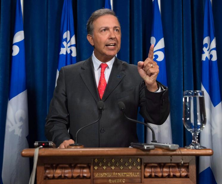 Pour l'instant, Sam Hamad doit factuellement et juridiquement... (PHOTO JACQUES BOISSINOT, LA PRESSE CANADIENNE)