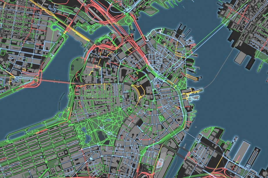 La carte des odeurs de Boston.... (IMAGE TIRÉE DU SITE GOODCITYLIFE.ORG)