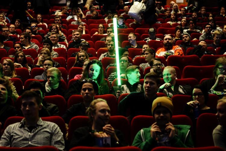 Le box-office nord-américain a passé pour la première... (PHOTO AFP)