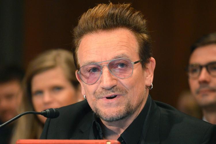 Bono s'est exprimé mardi devant une sous-commission du... (PHOTO AFP)