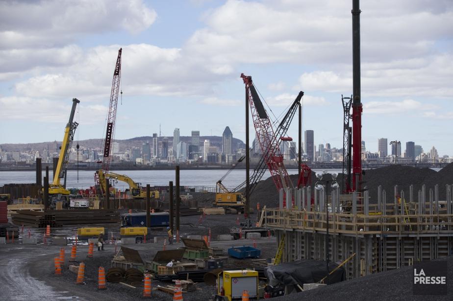 Le site du chantier de construction du nouveau... (PHOTO MARTIN TREMBLAY, ARCHIVES LA PRESSE)