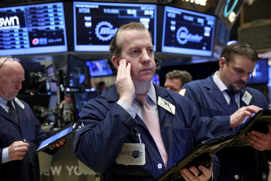 Vers 8h25, le contrat à terme sur l'indice... (Photo Lucas Jackson, Reuters)