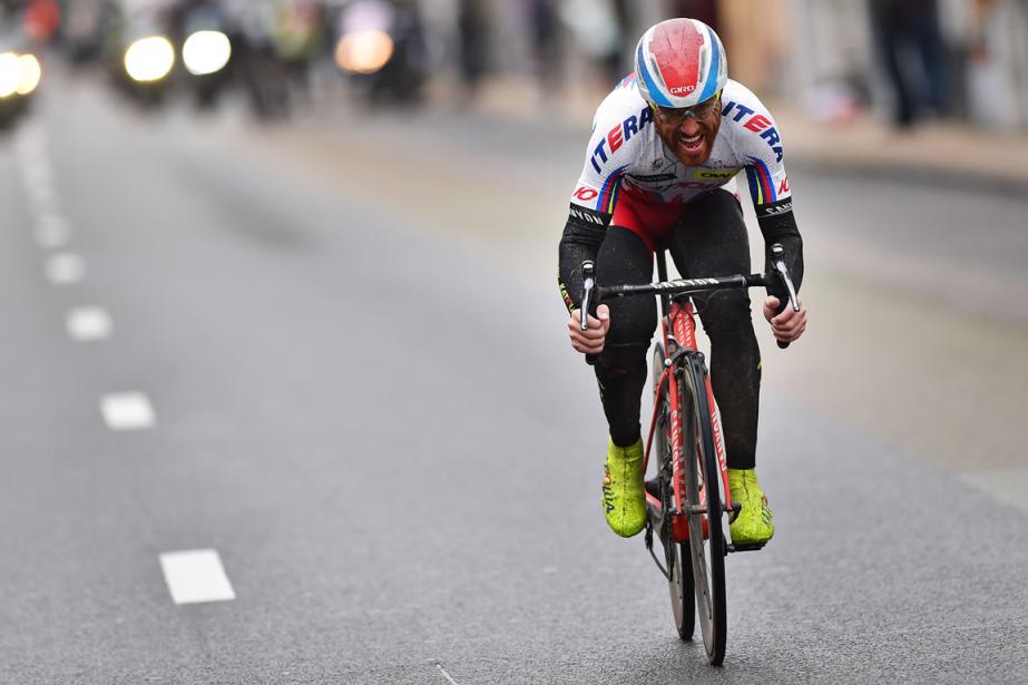 Le cycliste italien Luca Paolini... (Photo Tim de Waele, archives AFP)