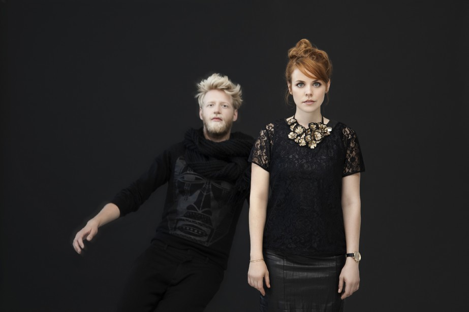 Les cocréateurs de Photosensibles Maxime Robin et Noémie... (PHOTO FOURNIE PAR JÉRÉMIE BATTAGLIA)