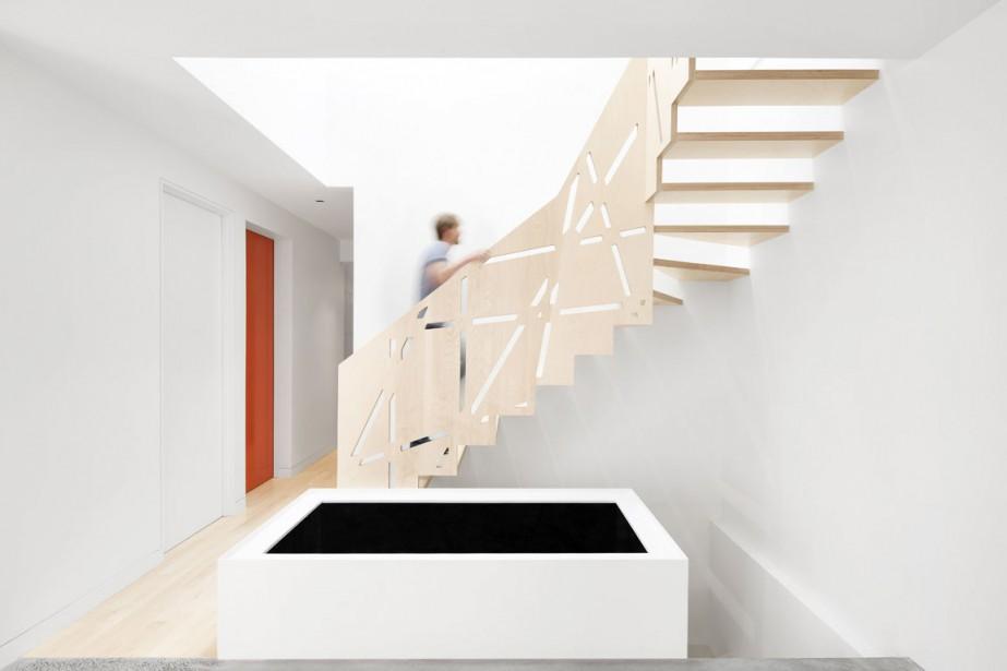 «On voulait une structure très légère, qui semblait... (PHOTO FOURNIE PAR ARCHITECTURE OPEN FORM)