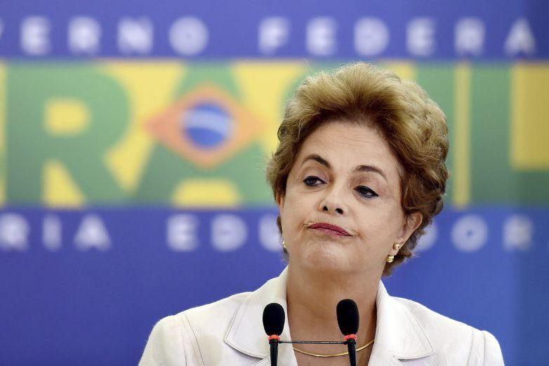 Dilma Rousseff... (PHOTO EVARISTO SA, AGENCE FRANCE-PRESSE)