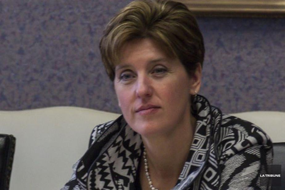 La ministre du Développement international, Marie-Claude Bibeau.... (Photo archives La Tribune)