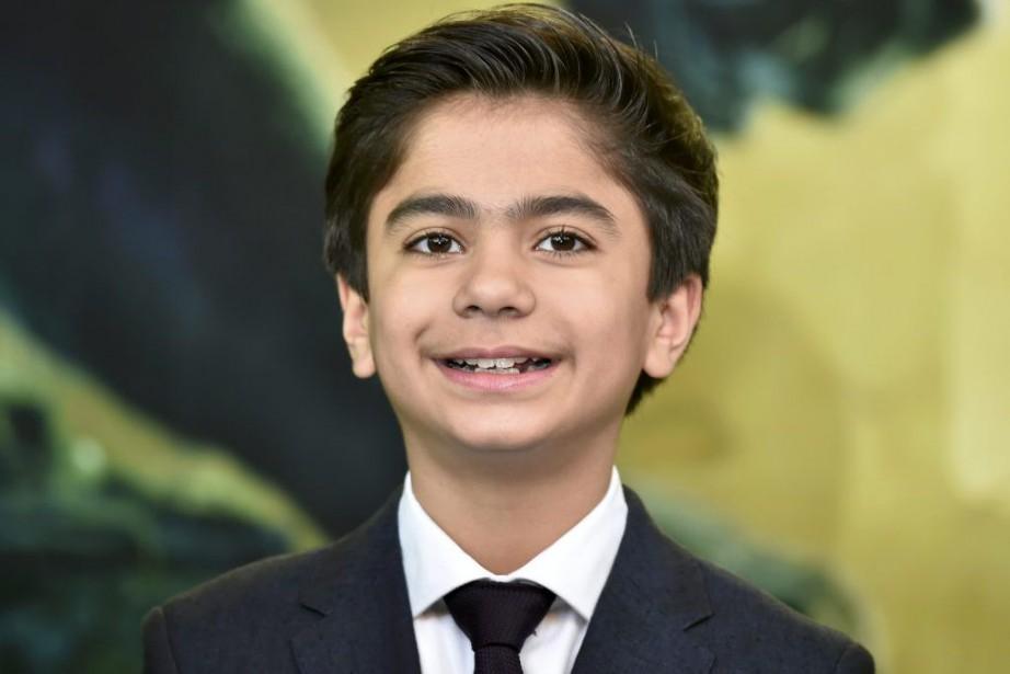 Neel Sethi à la première du film The... (PHOTO REUTERS)