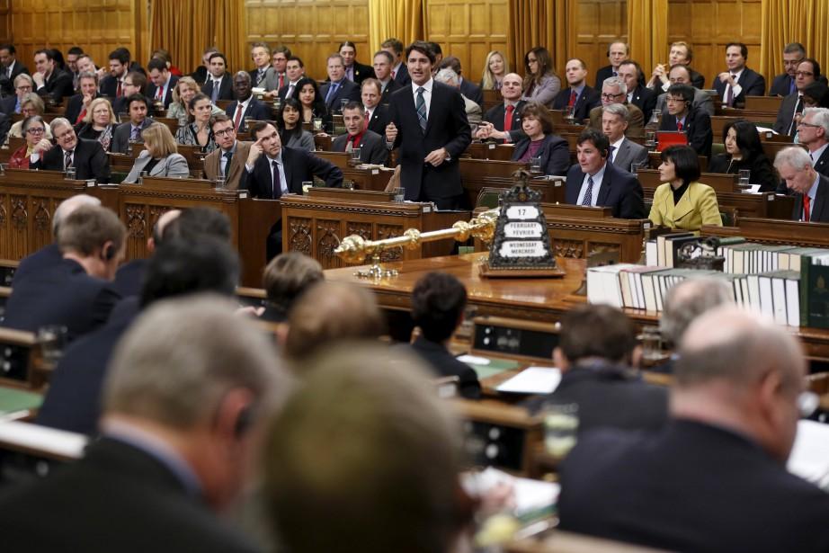 «Le gouvernement de Justin Trudeau doit redoubler de... (PHOTO CHRIS WATTIE, ARCHIVES REUTERS)