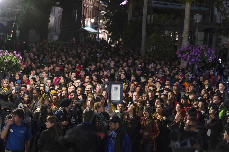 L'ouverrture du parc a fait courir les foules. (AFP, Valérie Macon)