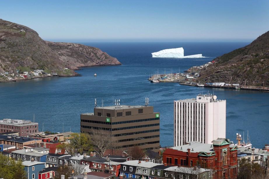 Terre-Neuve-et-Labrador, dont on voit ici la capitale St.... (PHOTOPaul Daly, Archives La Presse Canadienne)