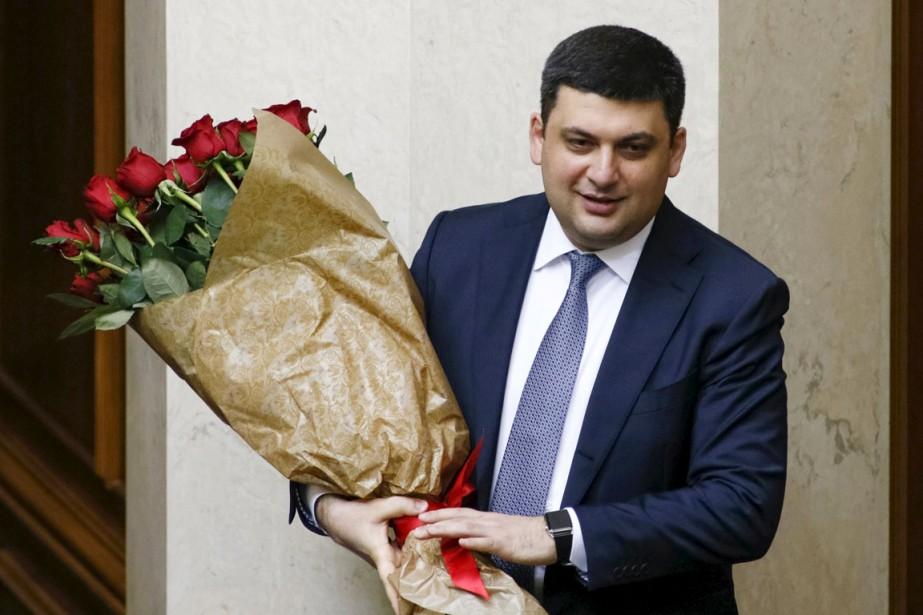 Pro-occidental comme son prédécesseur,Volodymyr Groïsman devient à 38... (PHOTO VALENTYNO OGIRENKO, REUTERS)