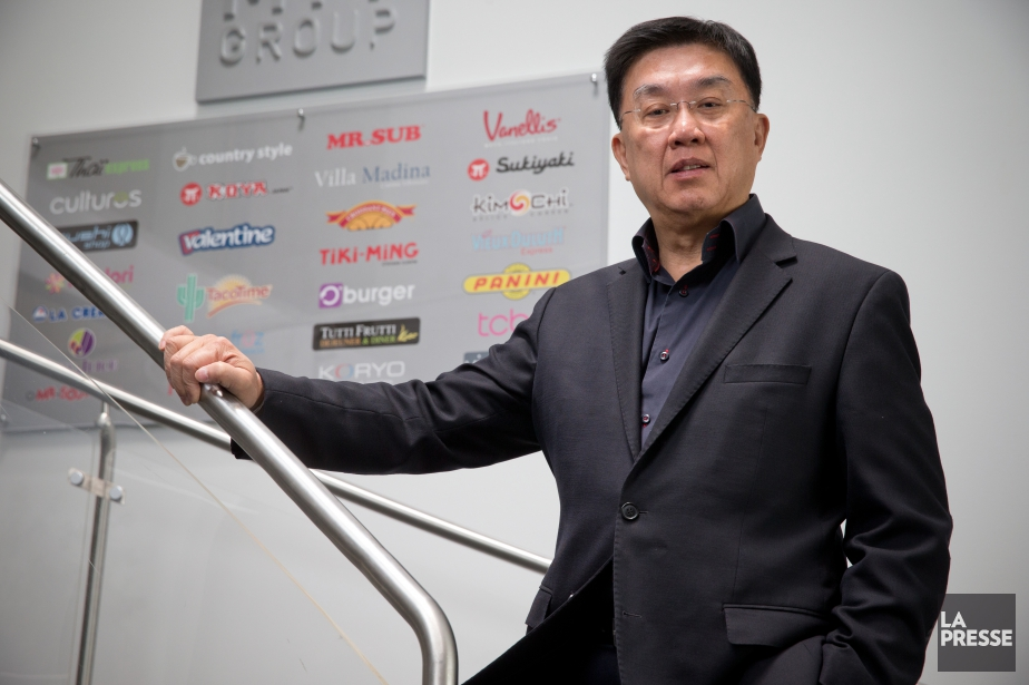 Stanley Ma, PDG du Groupe MTY.... (Photo David Boily, Archives La Presse)