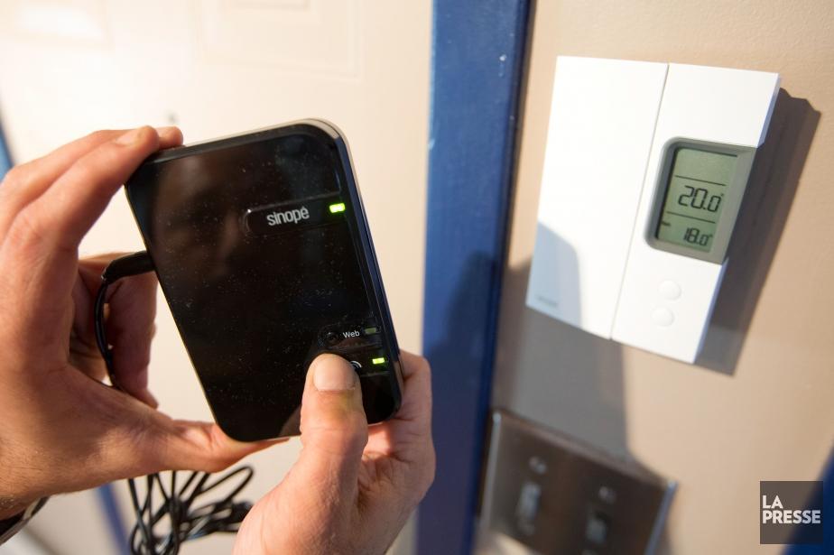 Le thermostat de Sinopé ne se branche pas... (Photo Ivanoh Demers, Archives La Presse)