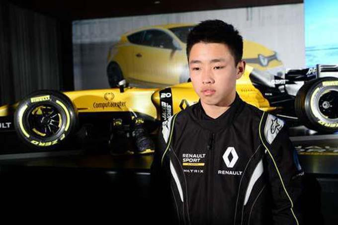 """Sun Yue Yang""""a un gros potentiel"""", dit le... (Photo : Renault)"""