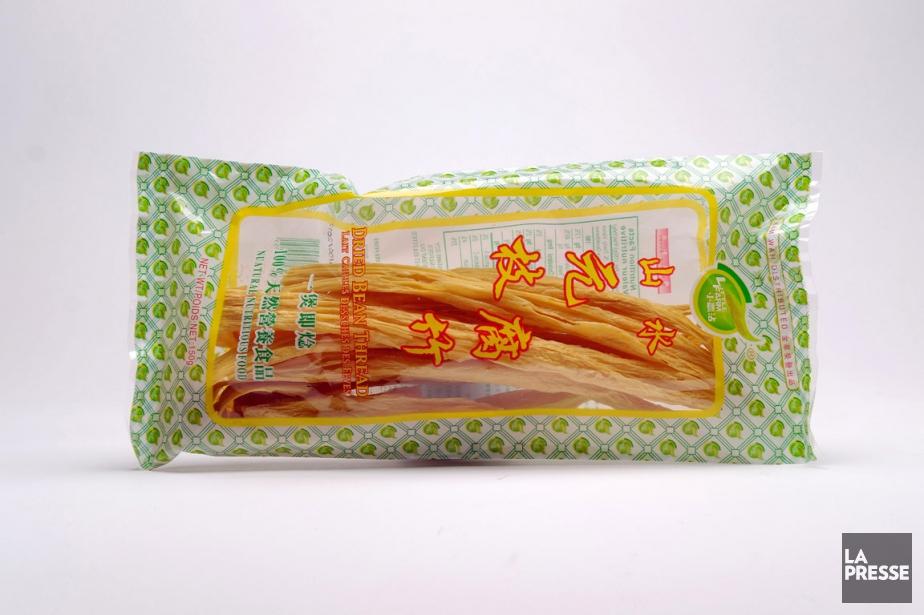 Des bâtonnets de lait de soya caillé, aussi... (PHOTO MARTIN CHAMBERLAND, LA PRESSE)