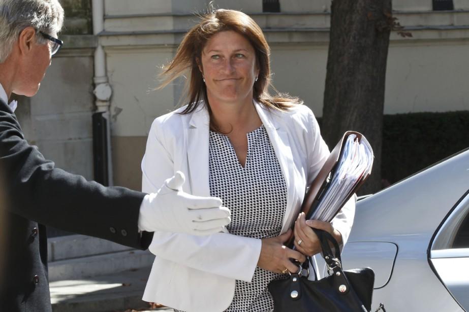 La ministre belge des Transports et de la... (PHOTO MICHEL EULER, ARCHIVES AP)