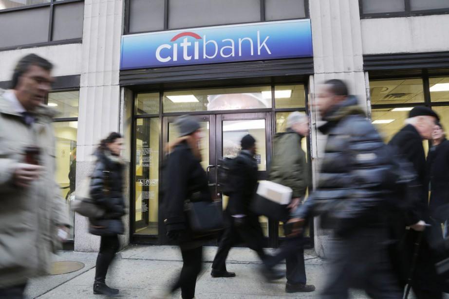 La banque américaine Citigroup a annoncé... (PHOTO MARK LENNIHAN, ARCHIVES AP)