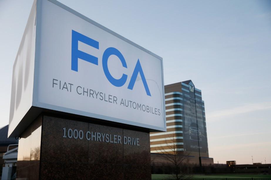Le siège social deFiatChryslerAutomobile àAuburn Hills, au Michigan... (PHOTO JEFF KOWALSKY, ARCHIVES BLOOMBERG)