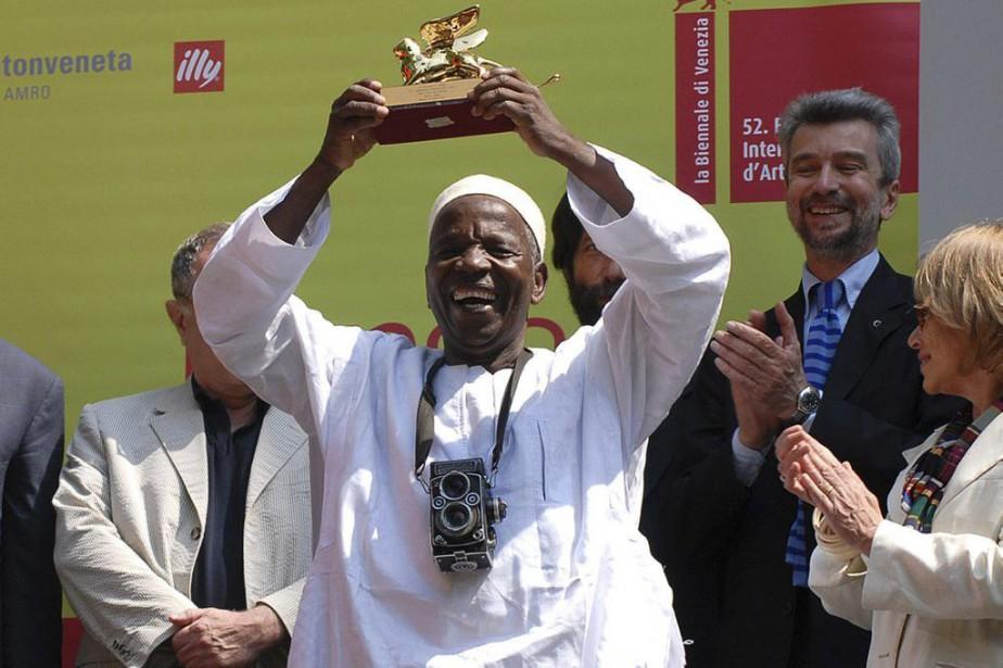 Malick Sidibe lors de sa participation à la... (PHOTO ARCHIVES AP)