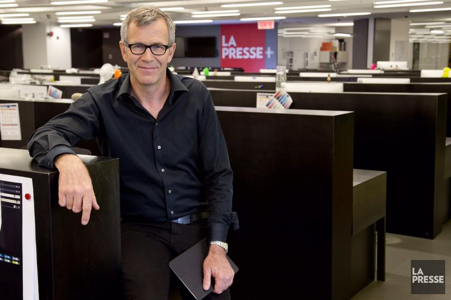 Guy Crevier, président et éditeur deLa Presse.... (PHOTO OLIVIER PONTBRIAND, ARCHIVES LA PRESSE)