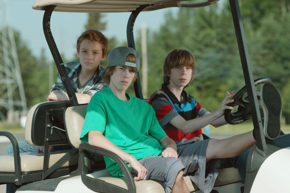 Nick Serino, Jackson Martin et Reece Moffett dans... (PHOTO FOURNIE PAR LES FILMS SÉVILLE)