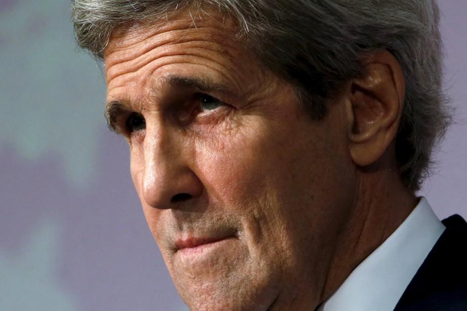 Le Secrétaire d'État américain John Kerry... (Photo Jonathan Ernst, Reuters)