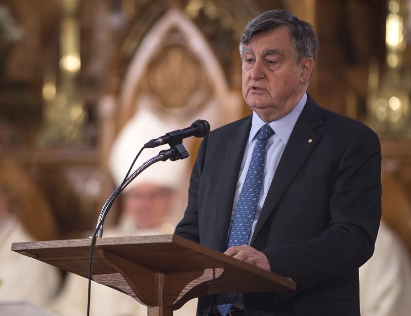 L'ex-premier ministre du Québec Lucien Bouchard (La Presse Canadienne, Joël Lemay)