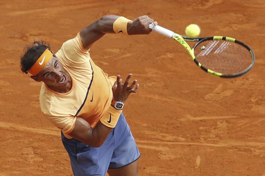 Rafael Nadal... (PHOTO VALERY HACHE, AFP)
