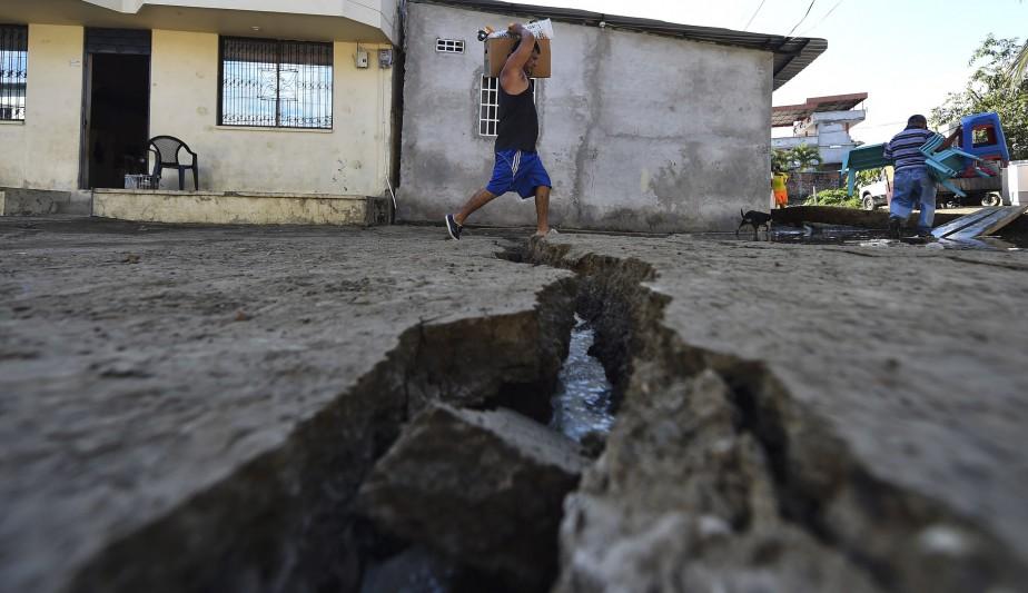 Le cataclysme est survenu dans une des zones sismiques les plus actives de la planète (AFP)
