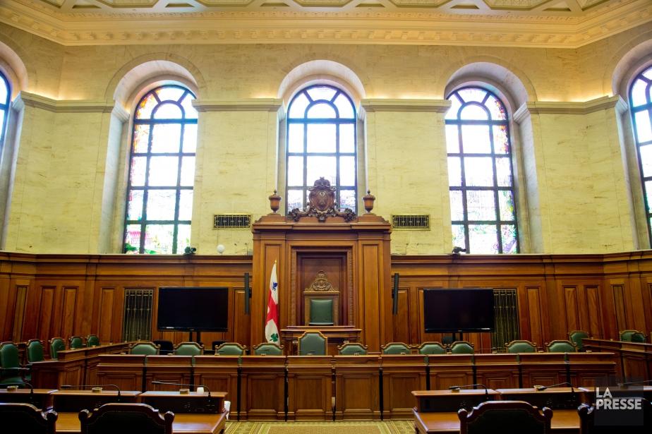 Aujourd'hui, les élus du conseil municipal de Montréal... (Photo David Boily, archives La Presse)