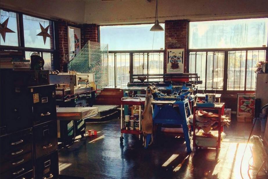 L'atelier de l'Unik Printshop, qui sera ouvert au... (PHOTO TIRÉE DE LA PAGE FACEBOOK DE L'ÉVÉNEMENT)