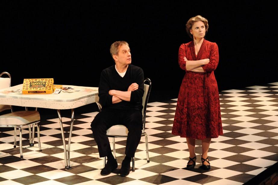 Guylaine Tremblay et Henri Chassé dans la pièce... (PHOTO CAROLINE LABERGE, FOURNIE PAR DUCEPPE)