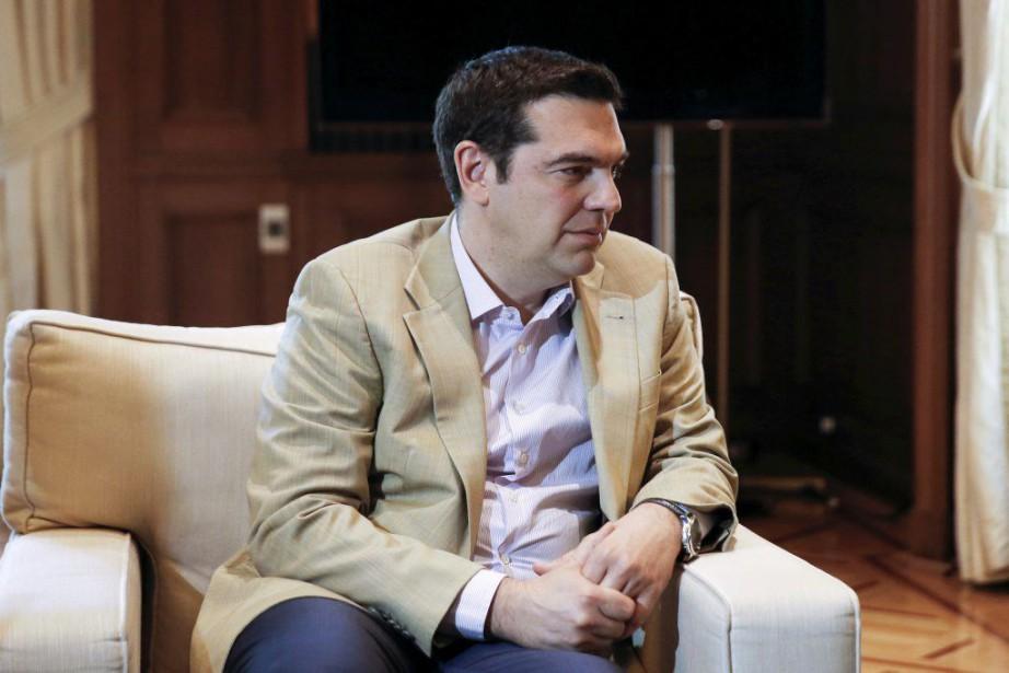 Le premier ministre de gauche, Alexis Tsipras, juge... (PHOTO ALKIS KONSTANTINIDIS, REUTERS)