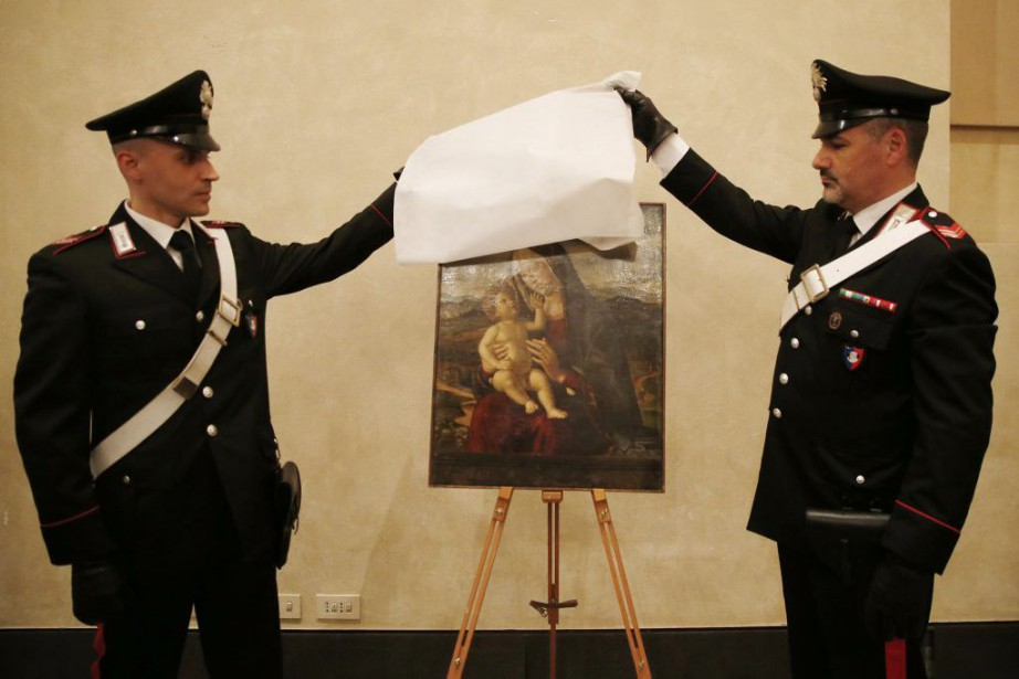 Madonna with Child du peintre Cima da Conegliano.... (PHOTO AP)