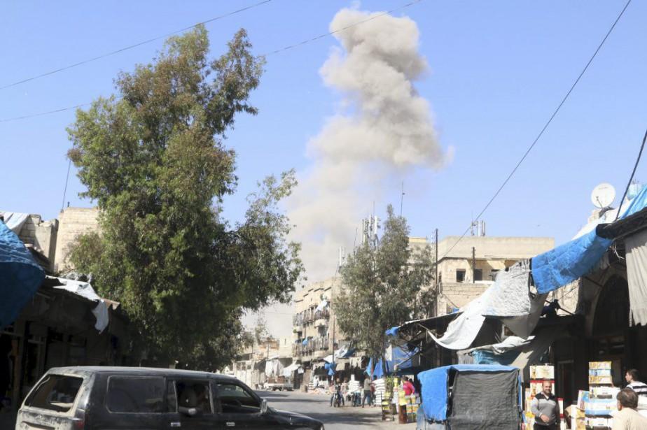 De violents combats ont eu lieu autour d'Alep,... (PHOTO ABDALRHMAN ISMAIL, REUTERS)