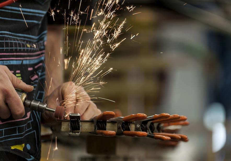 «En plaçant le domaine manufacturier innovant au coeur... (PHOTO Abigail Saxton, ARCHIVES BLOOMBERG)