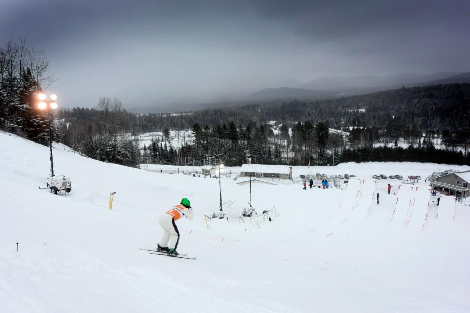 En plus d'avoir ledénivelé skiable le plus important... (PHOTO BERNARD BRAULT, ARCHIVES LA PRESSE)