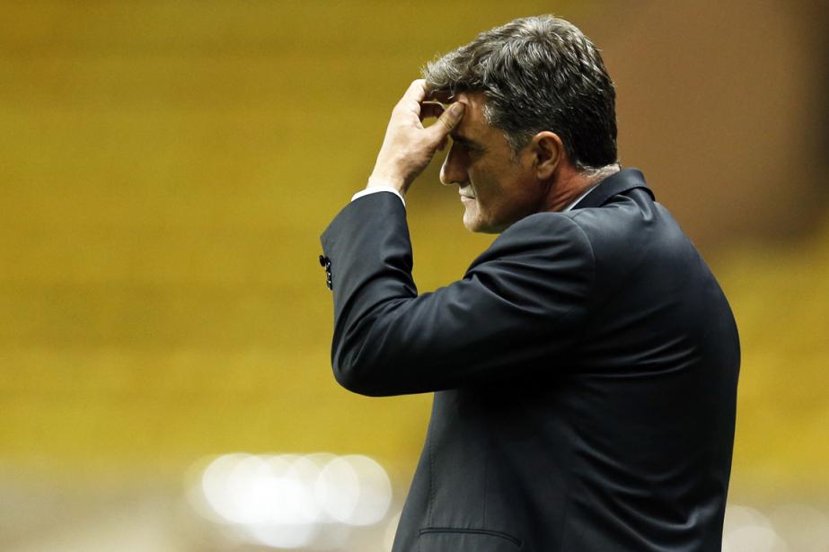 L'entraîneur espagnol de l'Olympique de Marseille, Michel.... (Photo Valery Hache, AFP)