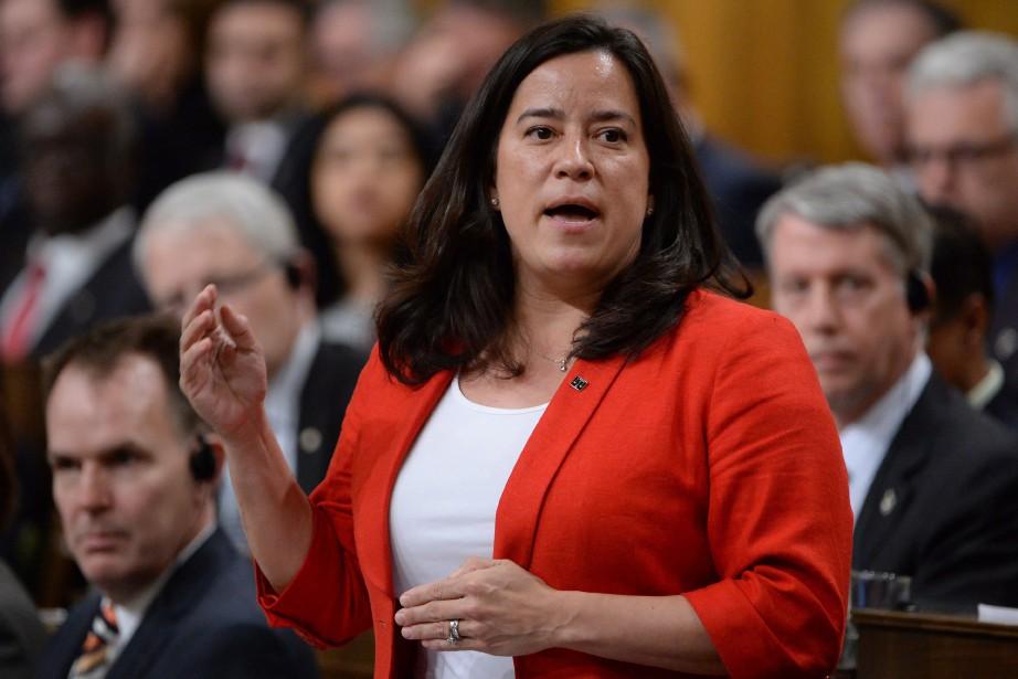 La ministre fédérale de la Justice,JodyWilson-Raybould.... (PHOTO ADRIAN WYLD, LA PRESSE CANADIENNE)
