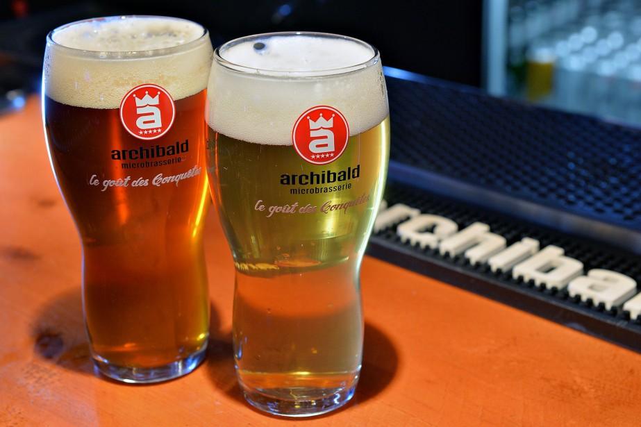 La microbrasserie Archibaldest reconnue pour ses bières régulières... (Photo Patrice Laroche, Le Soleil)