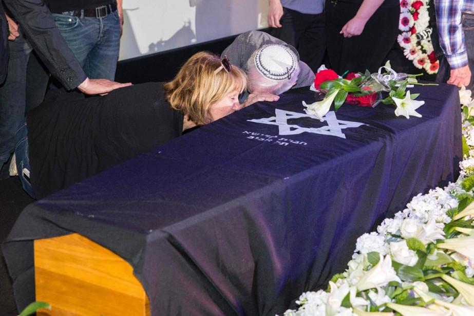 Les parents de l'actriceRonit Elkabetz pleurent la mort... (PHOTO AFP)