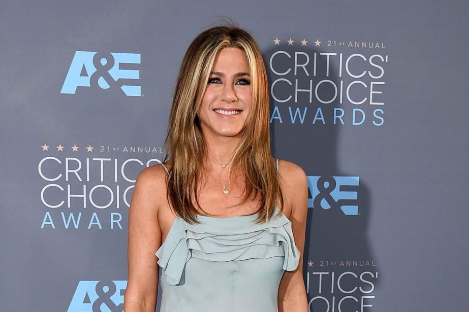 Jennifer Aniston, qui a lancé sa carrière avec... (PHOTO AFP)