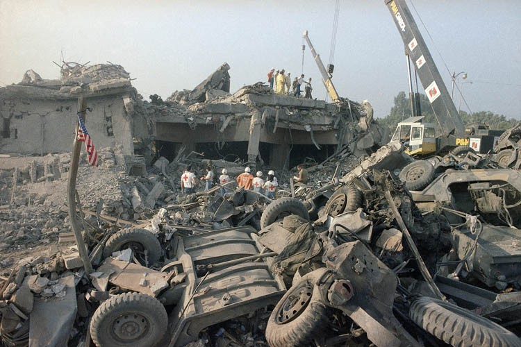241 soldats américains ont été tués le 23... (PHOTO AP)