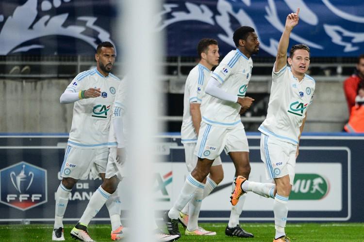 Marseille s'est qualifié pour la finale de la Coupe de France en... (PHOTO AFP)