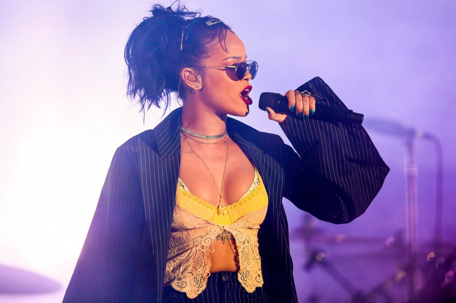 La chanteuse Rihanna.... (PHOTO RICH FURY, INVISION, VIA ARCHIVES ASSOCIATED PRESS)