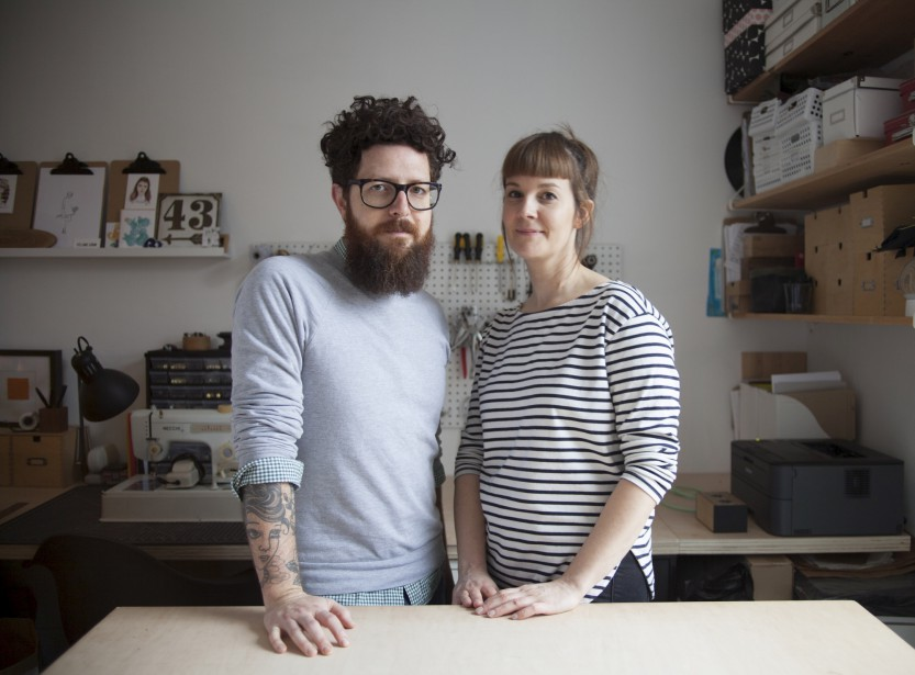 David Boisvert et Karine Lafrance, les fondateurs de Hamster (Fournie par Hamster)
