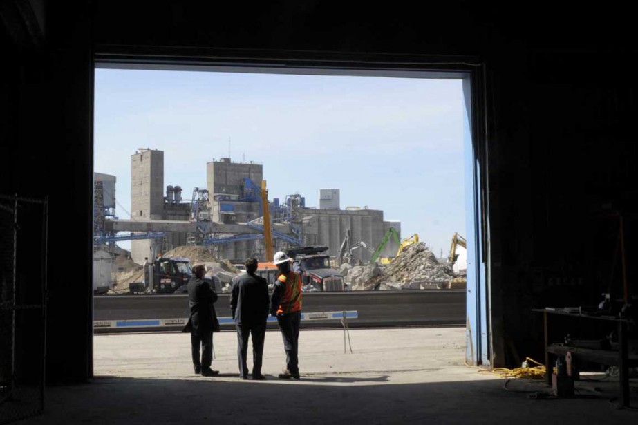 Vue du port de Trois-Rivières à partir du hangar 11. (Sylvain Mayer, Le Nouvelliste)