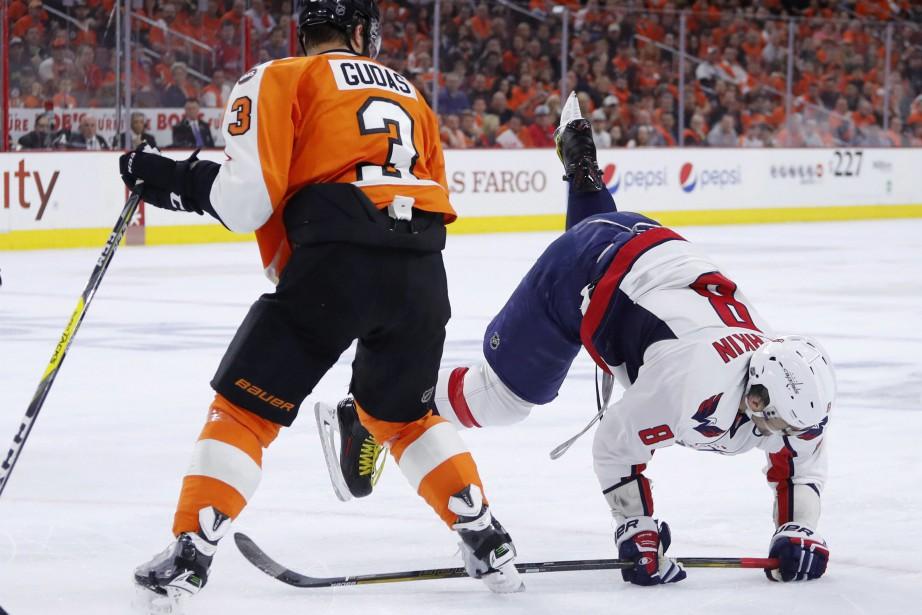 Alex Ovechkin, des Capitals, a vu la glace... (PHOTO MATT SLOCUM, ASSOCIATED PRESS)