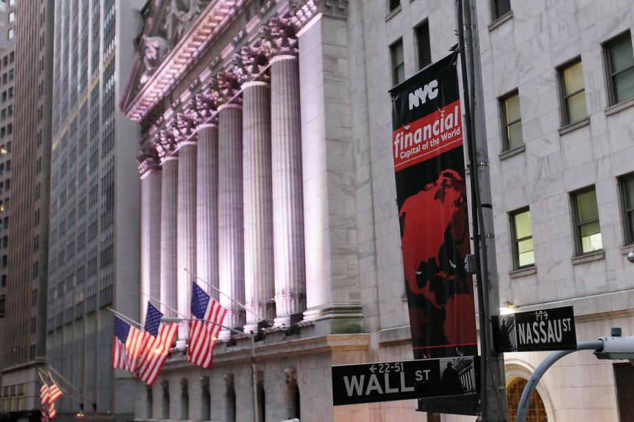 Aux États-Unis, 15% des sociétés composant l'indice S&P... (PhotoMark Lennihan, Archives Associated Press)